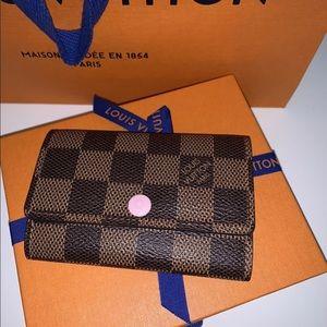 Louis Vuitton Accessories - 💕 Authentic Louis Vuitton 6 key Holder 💕 in Rose